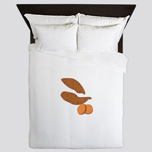 Sweet Potatoes Queen Duvet