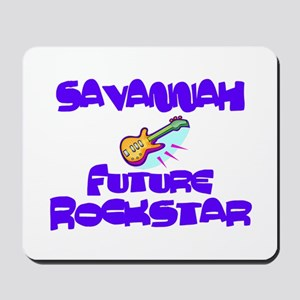Savannah - Future Rock Star Mousepad