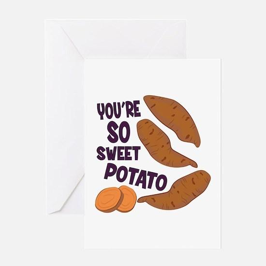 So Sweet Potato Greeting Cards