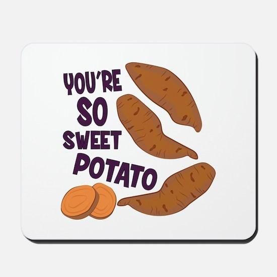 So Sweet Potato Mousepad