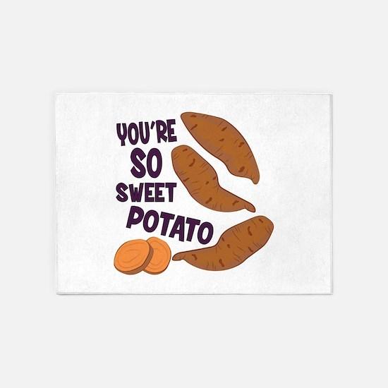 So Sweet Potato 5'x7'Area Rug