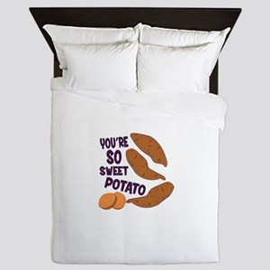So Sweet Potato Queen Duvet