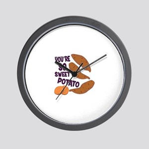 So Sweet Potato Wall Clock