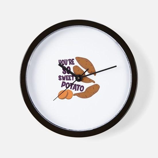 So Sweet Potato Wall Clock