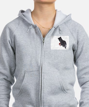 Tis but a Scratch Zip Hoodie