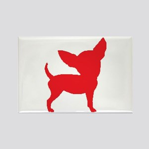 Chihuahua Two Red 2 Magnets