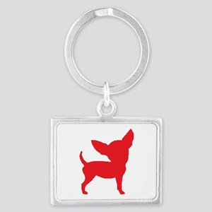 Chihuahua Two Red 2 Keychains
