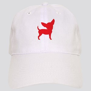 Chihuahua Two Red 2 Baseball Cap