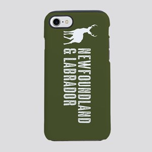 Deer: Newfoundland & Labrado iPhone 8/7 Tough Case