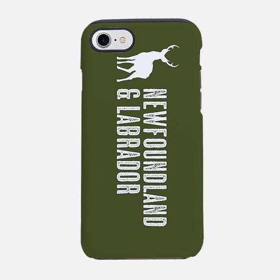 Deer: Newfoundland & Labrado iPhone 8/7 Tough Case
