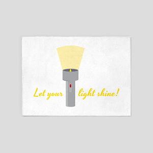 Let Light Shine 5'x7'Area Rug