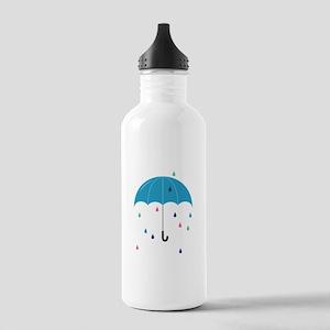 Colorful Rain Water Bottle