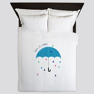 Let It Rain Queen Duvet