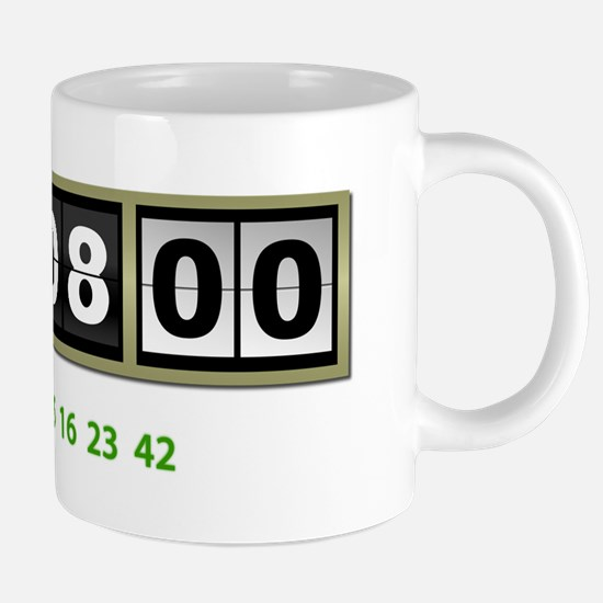 Lost Numbers 108 Minutes Mugs