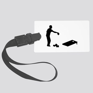Cornhole Large Luggage Tag