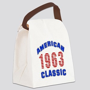 American Classic 1963 Canvas Lunch Bag