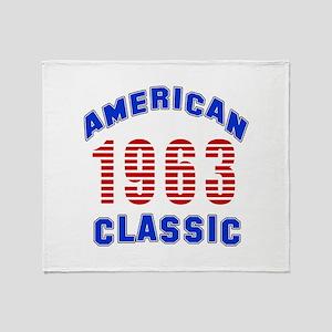 American Classic 1963 Throw Blanket