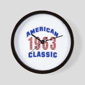 American Classic 1963 Wall Clock