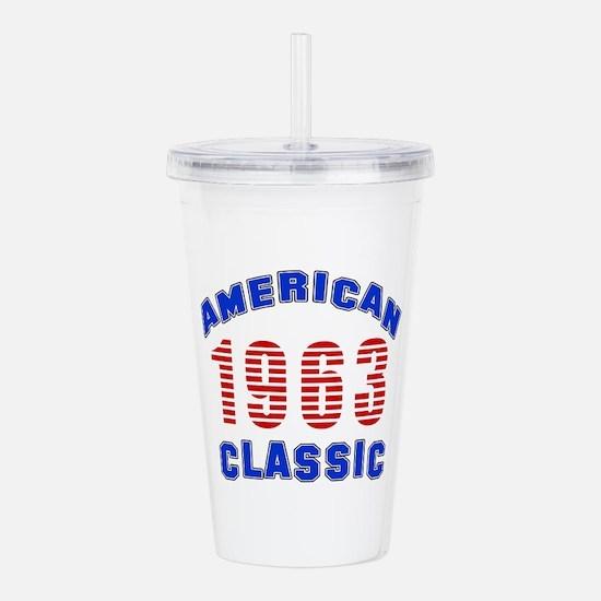 American Classic 1963 Acrylic Double-wall Tumbler