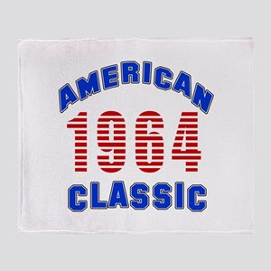 American Classic 1964 Throw Blanket