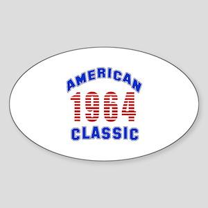 American Classic 1964 Sticker (Oval)