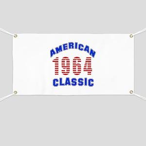 American Classic 1964 Banner