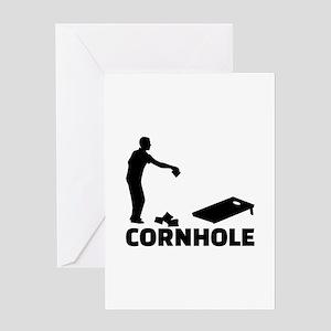 Cornhole Greeting Card
