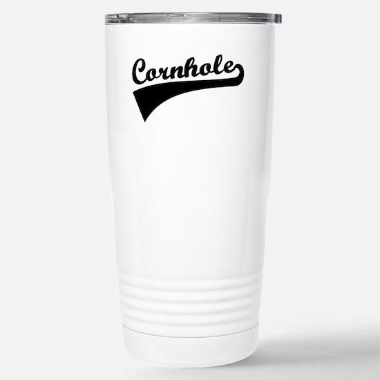Cornhole Stainless Steel Travel Mug
