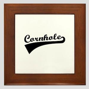 Cornhole Framed Tile