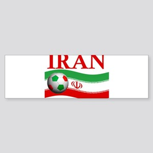 TEAM IRAN WORLD CUP Bumper Sticker