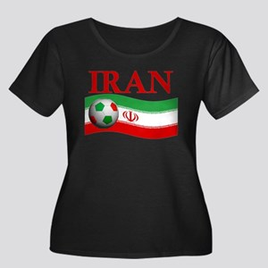 TEAM IRAN WORLD CUP Women's Plus Size Scoop Neck D