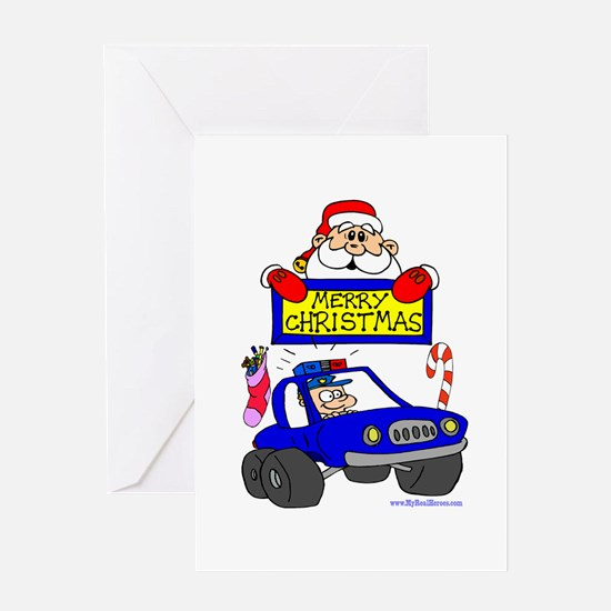 Christmas Shirt for COPs Greeting Card