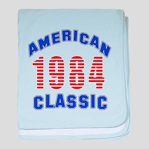 American Classic 1984 baby blanket