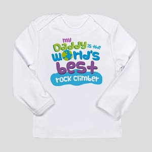 Rock Climber Gifts for Long Sleeve Infant T-Shirt