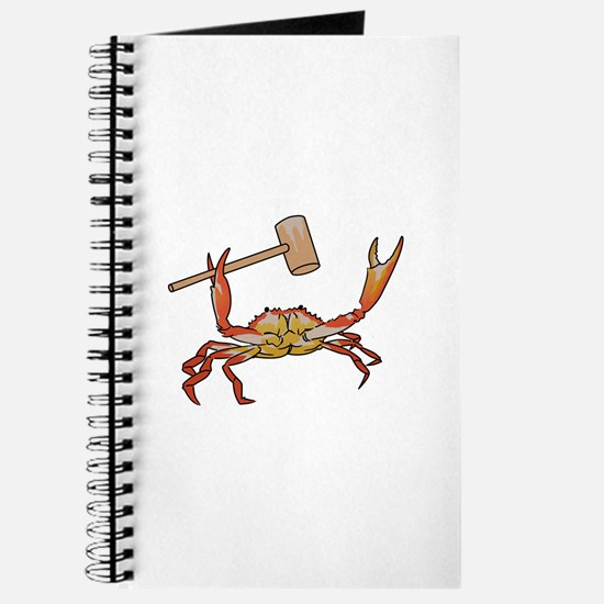 Crab Wtih Mallet Journal