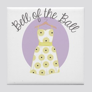Bell Of Ball Tile Coaster