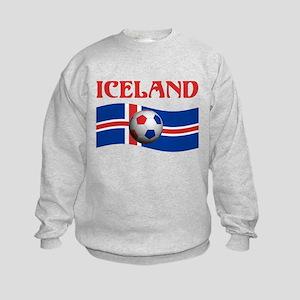 TEAM ICELAND WORLD CUP Kids Sweatshirt