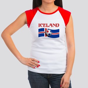 TEAM ICELAND WORLD CUP Women's Cap Sleeve T-Shirt