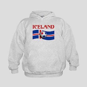 TEAM ICELAND WORLD CUP Kids Hoodie