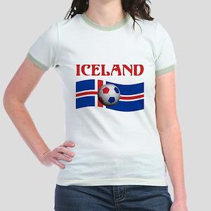 TEAM ICELAND WORLD CUP Jr. Ringer T-Shirt