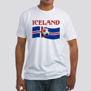 TEAM ICELAND WORLD CUP Fitted T-Shirt