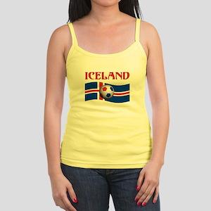 TEAM ICELAND WORLD CUP Jr. Spaghetti Tank