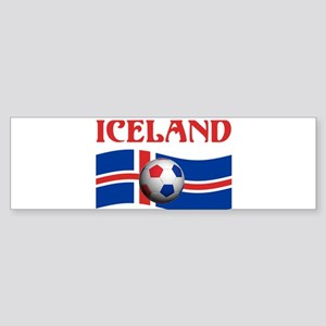 TEAM ICELAND WORLD CUP Bumper Sticker