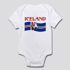 TEAM ICELAND WORLD CUP Infant Bodysuit