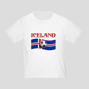 TEAM ICELAND WORLD CUP Toddler T-Shirt