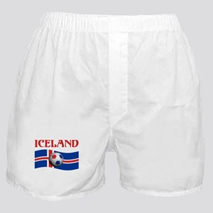 TEAM ICELAND WORLD CUP Boxer Shorts