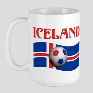 TEAM ICELAND WORLD CUP Large Mug