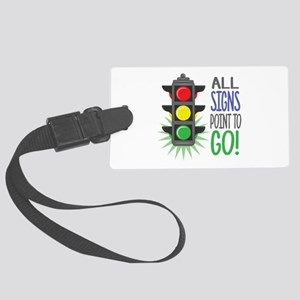 Point To Go Luggage Tag