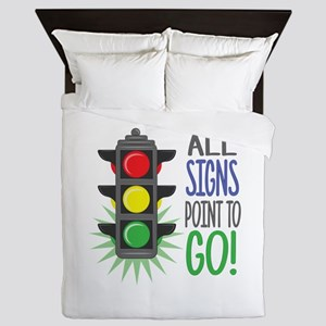 Point To Go Queen Duvet