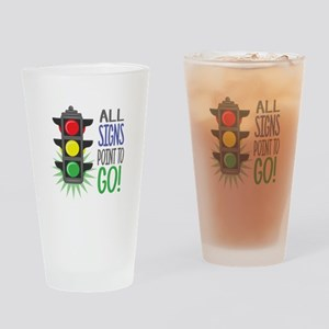 Point To Go Drinking Glass